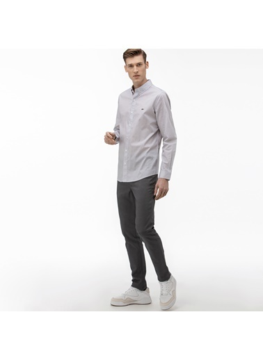 Lacoste Erkek Slim Fit Pantolon HH0014.14G Gri
